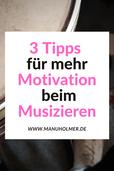 Motivation Musik üben
