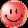Luftballon Ballon Heliumballon Folienballon Ballongeschenk Ballongruß Geburtstag Kindergeburtstag Deko Dekoration Smiley Kopf witzig