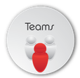 Teams button