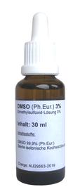 DMSO-Augentropfen, DMSO-Lösung 3%