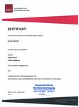 eAB Zertifizierung eArztbrief Arzt Praxis KBV elektronische Arztbriefe