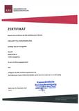Zertifizierung EARZTBRIEF
