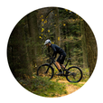 Ideal zum Mountainbike