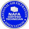 Técnico certificado NAFA (National Air Filtration Association)