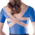 corrector de postura, faja para espalda, corregir postuar, soporte clavicular, soporte para clavicula, clavicula, oppo, daonsa, ability, ortopedia, rehabilitación, hombros caídos