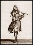 Tanzmeister mit Pochette