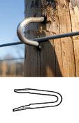 stainless steel harp