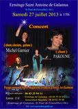 Concert à l'Ermitage Saint Antoine de Galamus, cliquez pour agrandir !