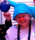 Clown-Kurs Teilnehmerin bei Kristina Mohr