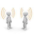 Kommunikation Menschen im Gespräch