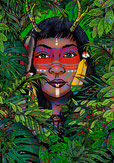 Guardian of the Rainforest Fantasy Regenwald Puzzle