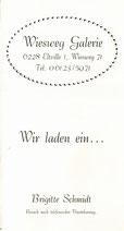 Wiesweg Galerie Eltville: Sommer-Ausstellung 1994