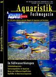 Aquaristik Fachmagazin & Aquarium heute (AF) 40 (1), Nr. 199 Wolfgang Ros