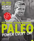PALEO 2 – power every day Kochbuch Steinzeit Diät Power for every day. eat · move · sleep · feel · 120 neue Rezepte glutenfrei und laktosefrei. Mit Steinzeiternährung ... Bewegung langfristig fit und