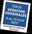 Stage Versions Originales - A vous de jouer