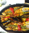 魚介パスタパエリア