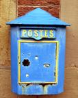 Ein alter Briefkasten