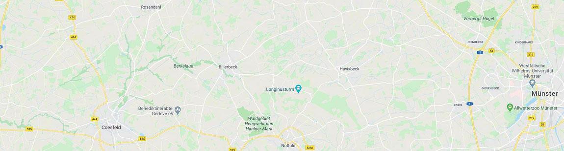 Baumberge Region im Münsterland Nordrhein-Westfalen