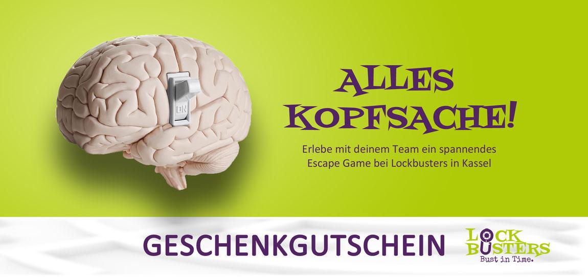 Geschenkgutschein kaufen - Live Escape Games in Kassel