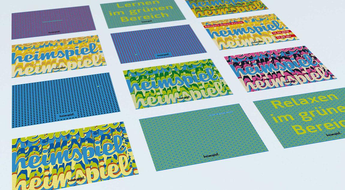 heimspiel - die Kneipe am KIT - Postkarten