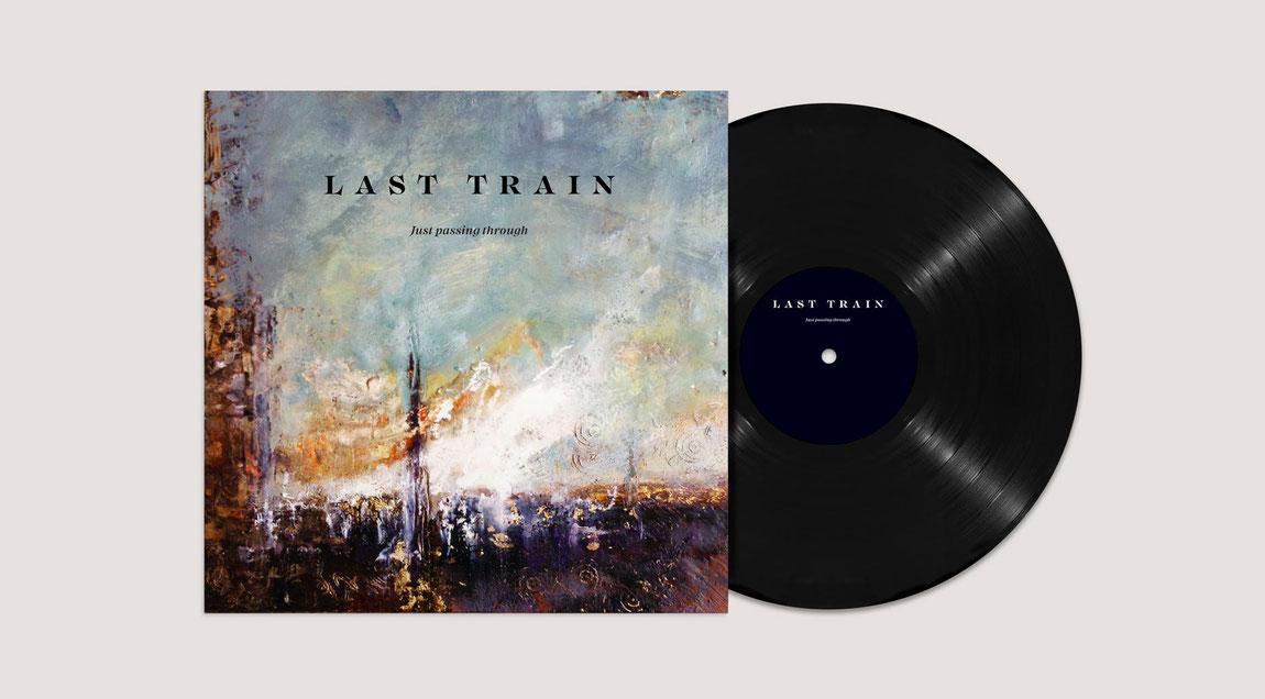 Albumgestaltung für das akustic POP/Rock-Duo Last Train aus Karlsruhe