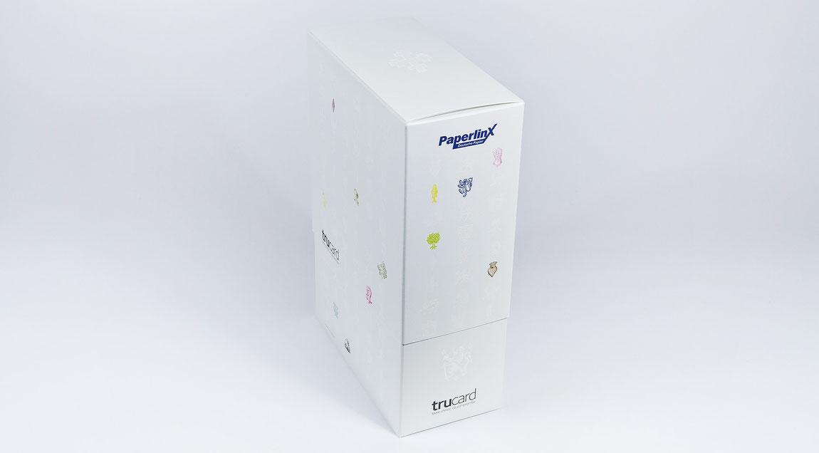 Musterbox Trucard für PaperlinX Deutschland