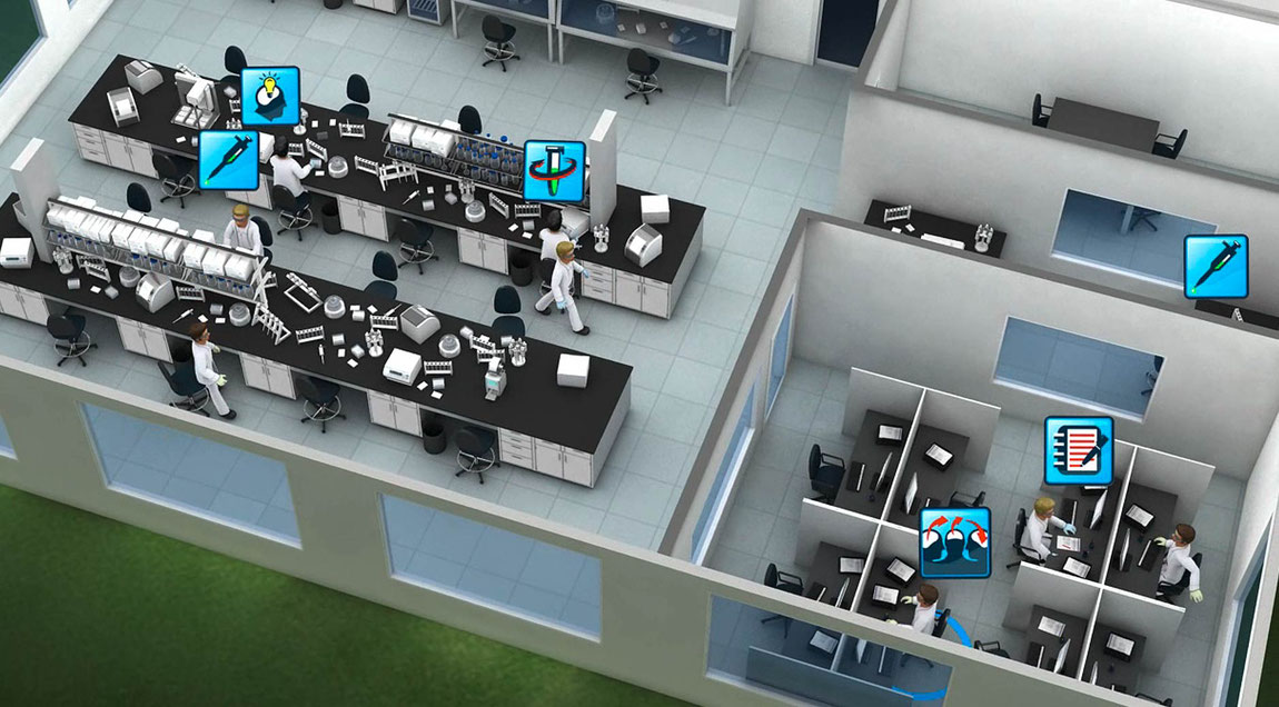 User-Interface-Design für Agilent