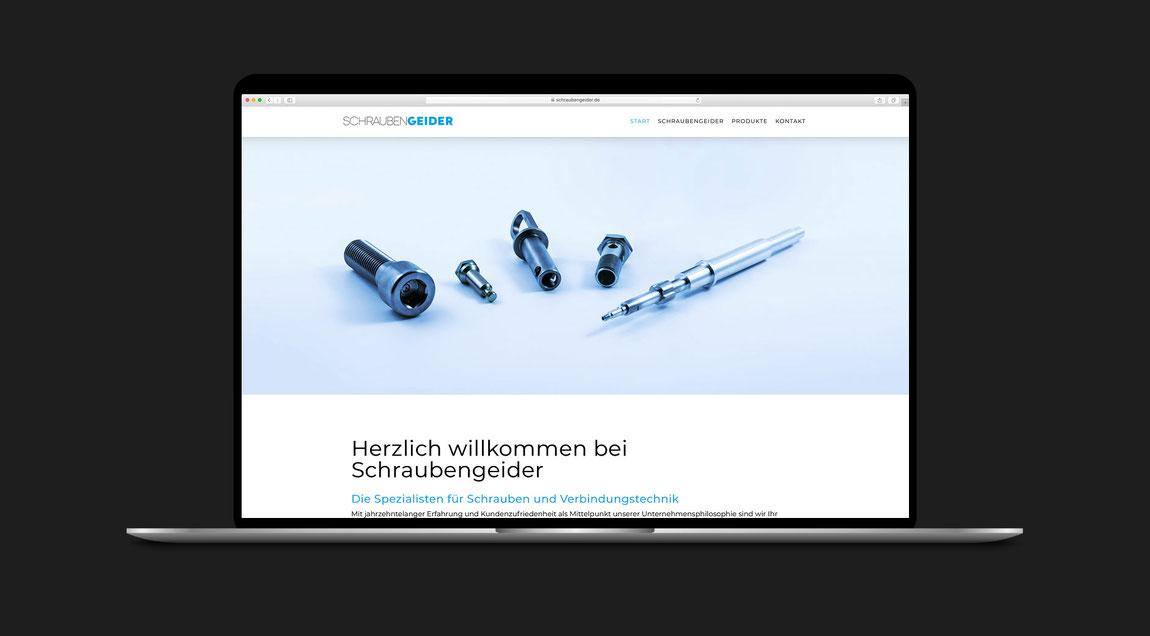 Website Schrauben Geider
