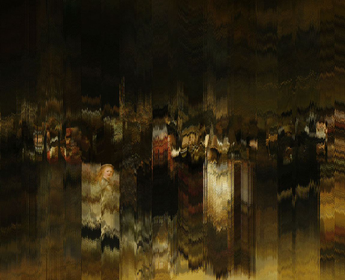 Processing-Projekt Destroyed by Pixels by Thomas Heck, Grafikdesigner, Karlsruhe – The destroyed nightwatch