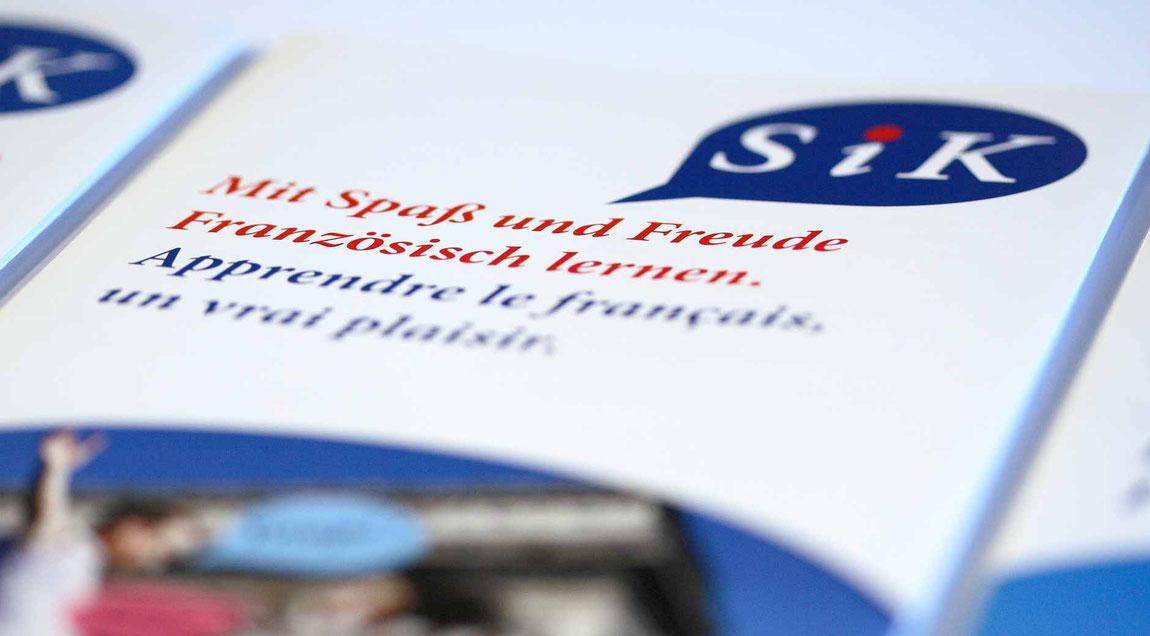 Erscheinungsbild und Unternehmenskommunikation für SiK aus Karlsruhe