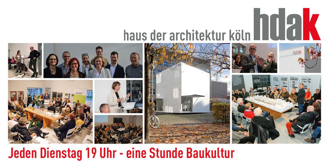 haus der architektur köln Jeden Dienstag 19 Uhr – eine Stunde Baukultur Titelbild