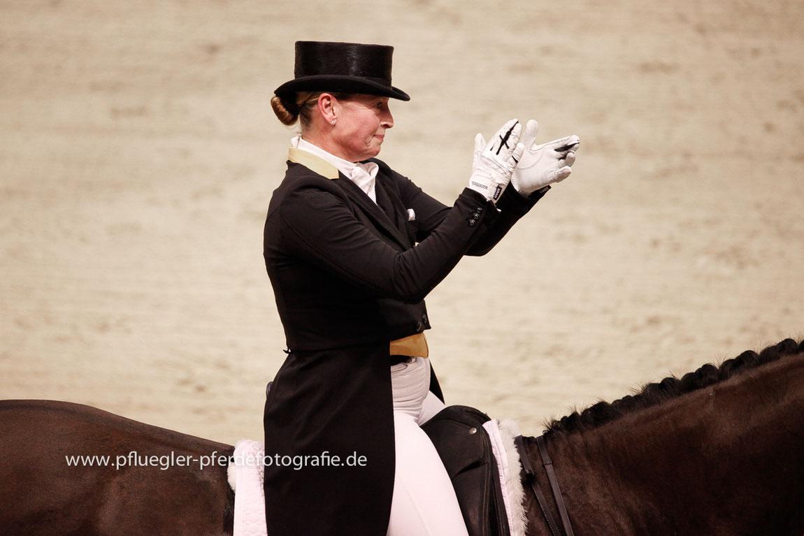 VR Classics 2019 Neumünster, Siegerin Isabell Werth FEI World Cup Dressage auf Weihegold OLD