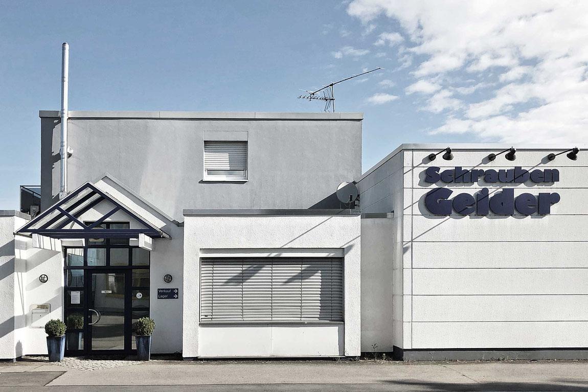 Schrauben Geider GmbH Firmengebäude Hockenheim