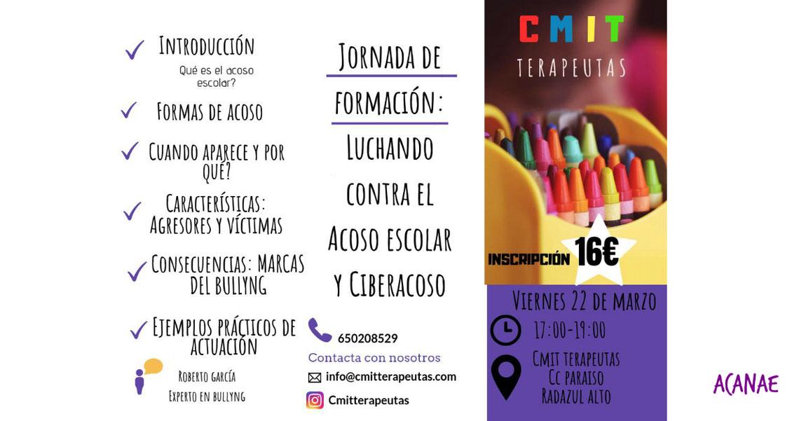 Jornada de formación: Luchando con el acoso escolar y ciberacoso en Radazul (Tenerife)