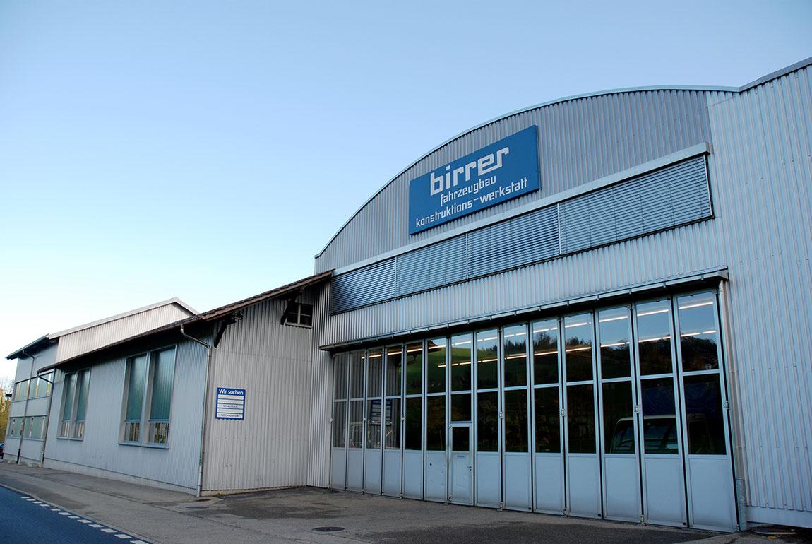 Ihr Partner für Fahrzeugbau und Spezialkonstruktionen - Alois Birrer AG Fahrzeugbau Hofstatt