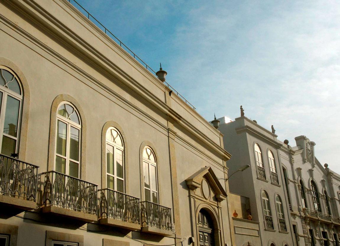 Aussenansicht des Hotel de Estrela in Lissabon