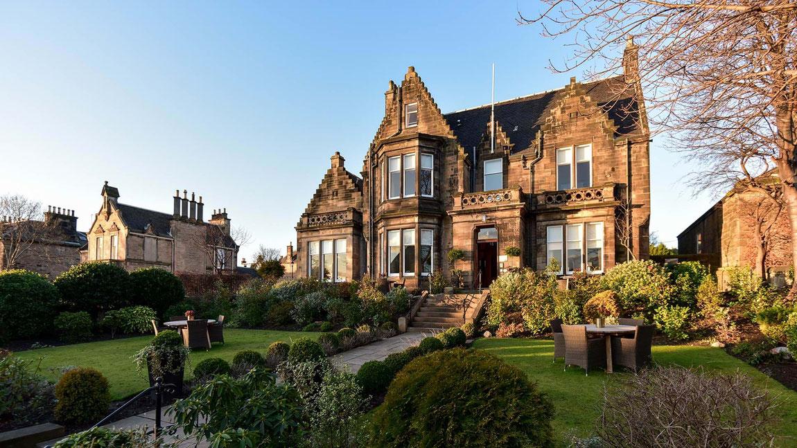 Dunstane House in Edinburgh - Hotelansicht außen