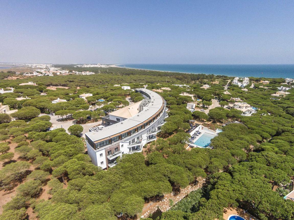 Praia Verde von oben