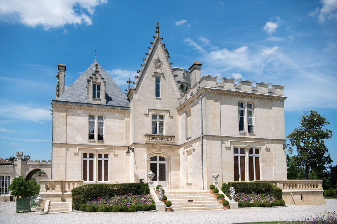 Château Pape Clement von aussen!