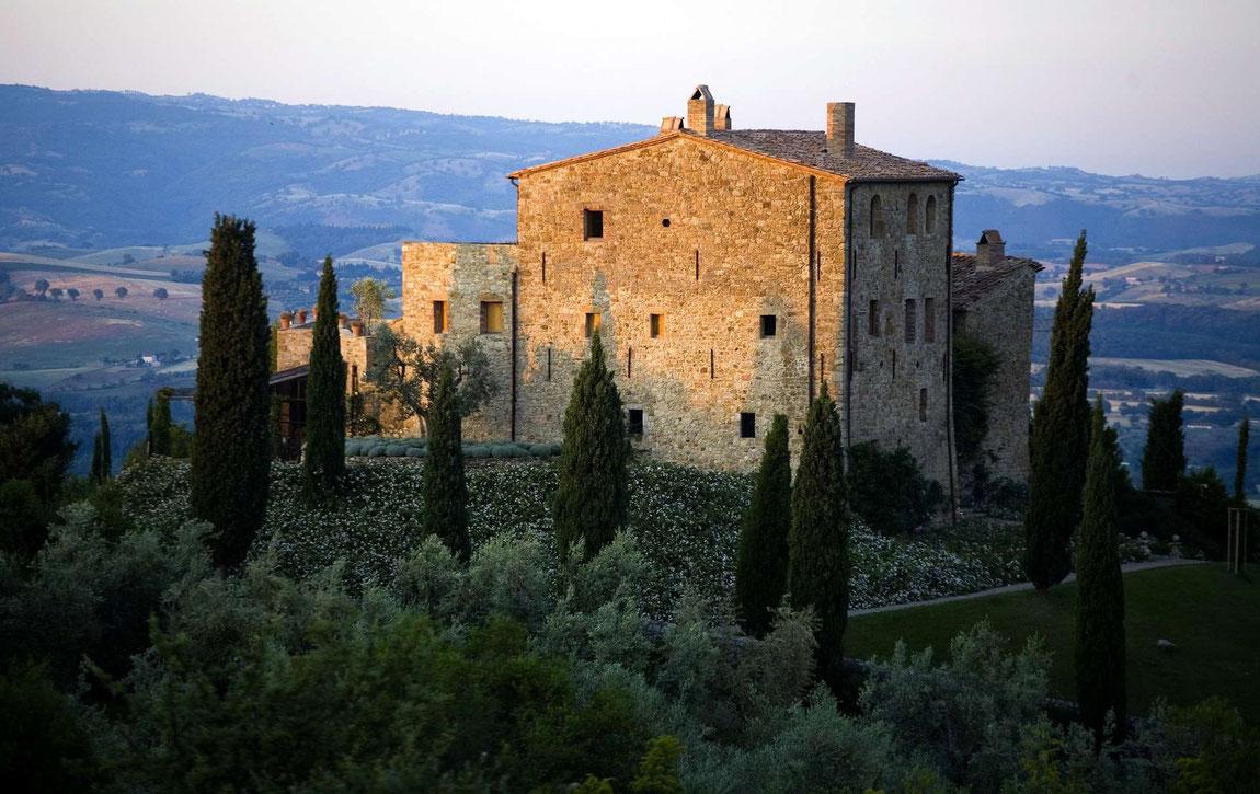 Außenansicht Castello di Vicarello