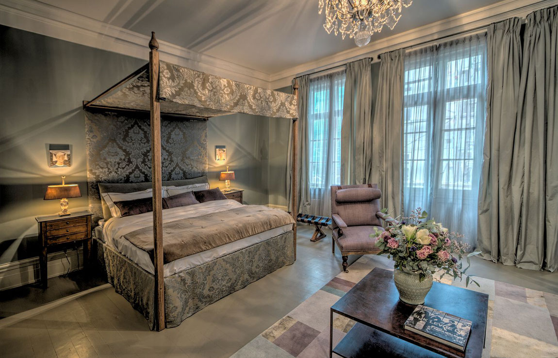 Schlafzimmeransicht vom Camillas Hus in Oslo