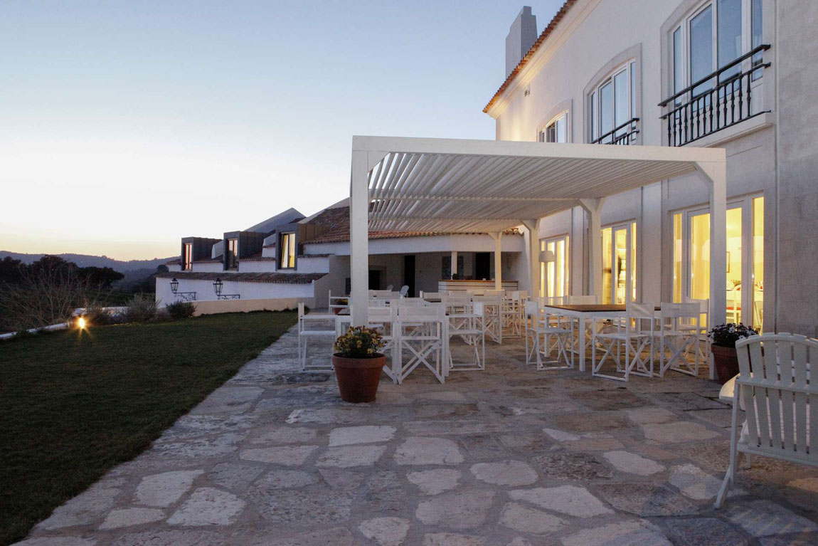 Casa Palmela Außenterrasse