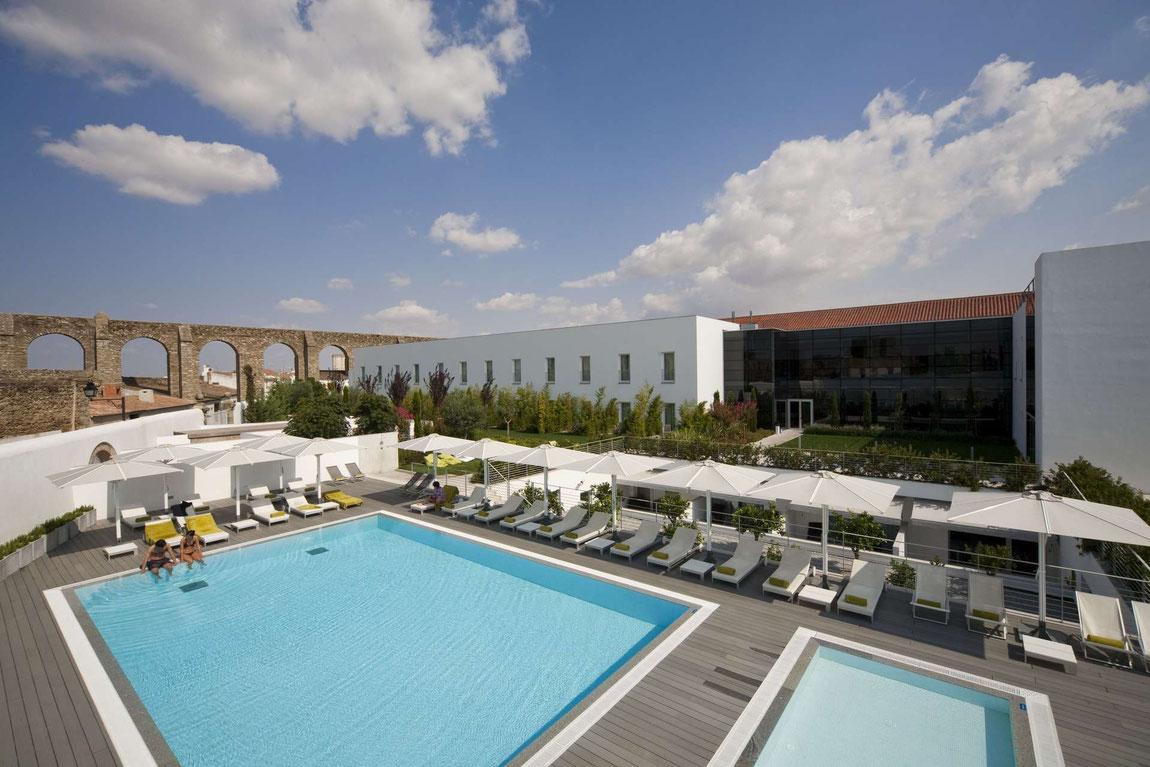 Mar de Ar Aqueduto Hotel mit Pool