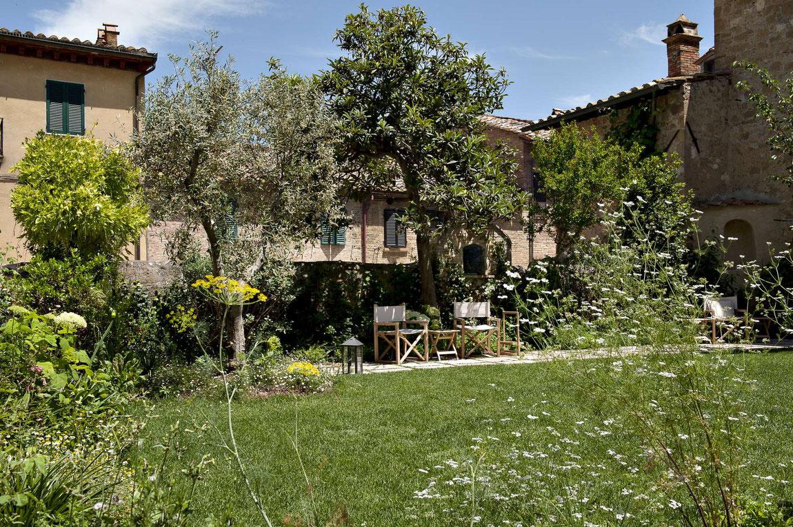 La Bandita Townhouse Gartenansicht