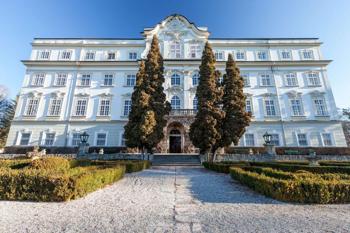 Aussenansicht Schloss Leopoldskron