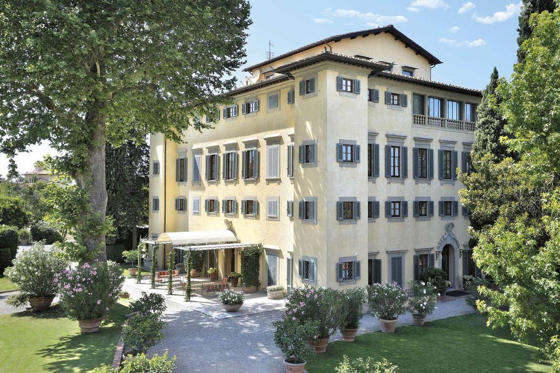 Aussenansicht Villa La Massa