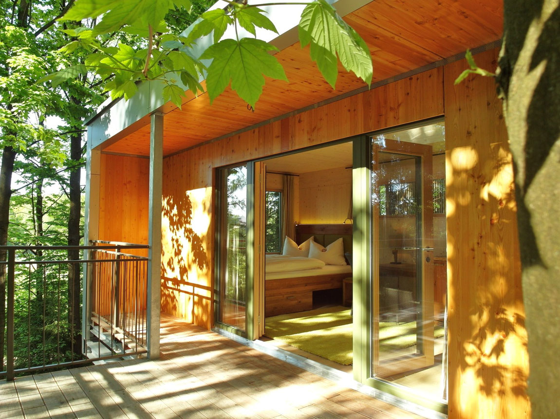 Detailansicht Baumhaus Lodge