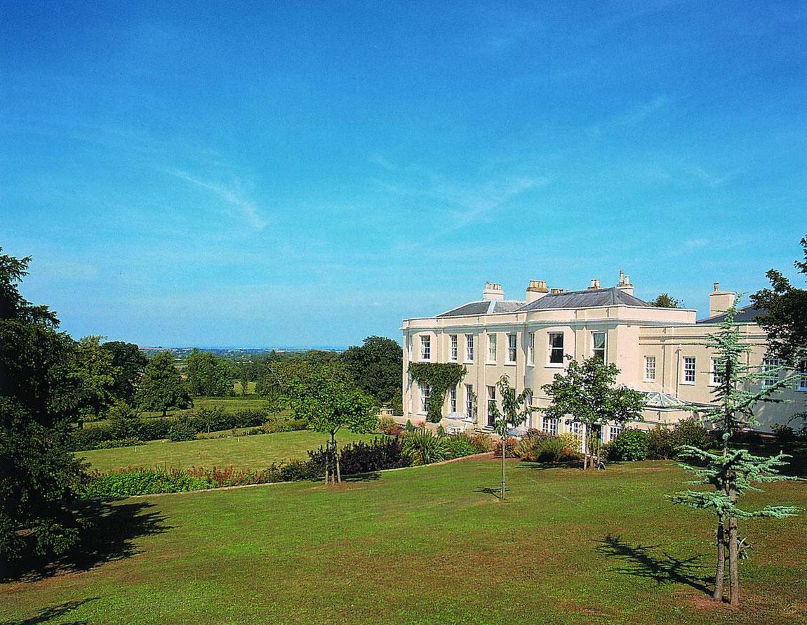 Mount Somerset vom Garten aus