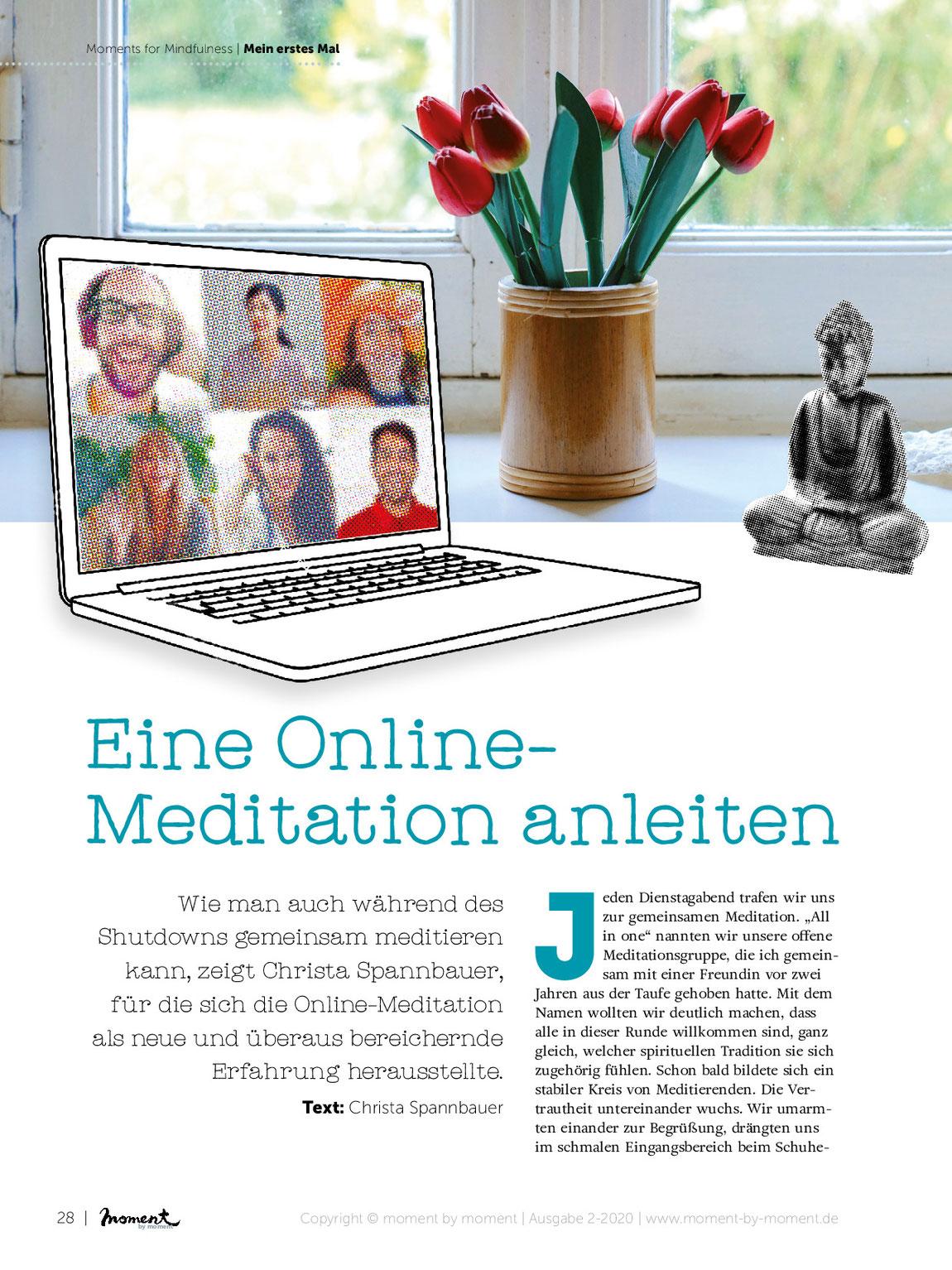 Online-Meditation mit Christa Spannbauer