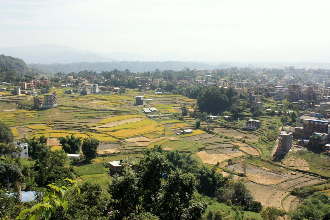 Les faubourgs de Katmandou
